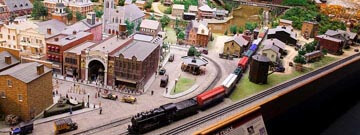 Miniature Railroad & Village